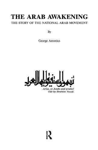 Arab Awakening (Hardback)