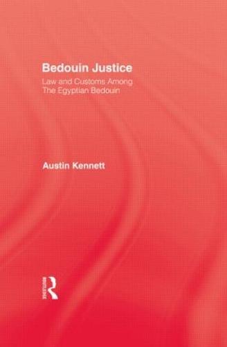 Bedouin Justice (Hardback)