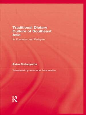 Traditional Dietary Culture Of S (Hardback)