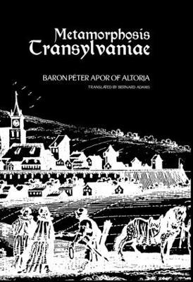 Metamorphosis Transylvaniae (Paperback)