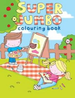 Super Jumbo Colouring Book (Hardback)