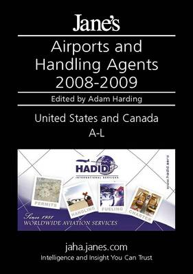 Jane's Airports and Handling Agents 2008/2009: United States and Canada (Hardback)