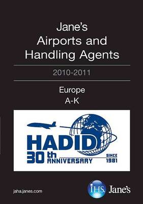 Jane's Airports and Handling Agents 2010/2011: Europe (Paperback)