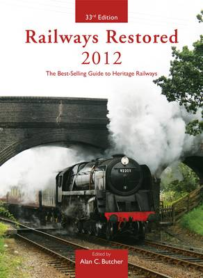 Railways Restored 2012 (Paperback)