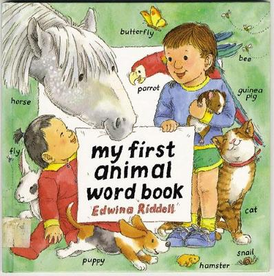 My First Animal Word Book (Paperback)