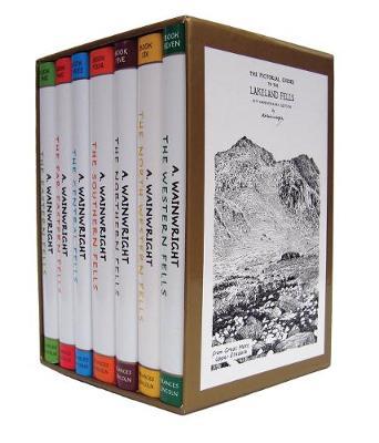 Wainwright Pictorial Guides Boxed Set (Hardback)
