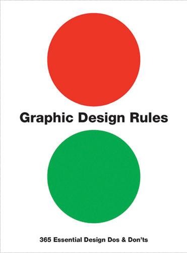 Graphic Design Rules: 365 Essential Design Dos and Don'ts (Paperback)