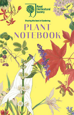 RHS Plant Notebook (Yellow) (Paperback)