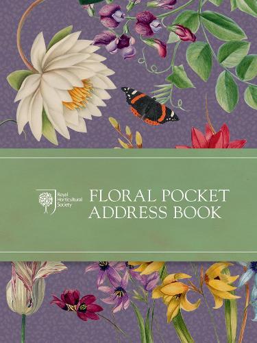 RHS Floral Pocket Address Book (Hardback)