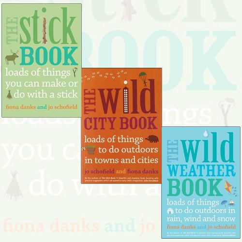 The Stick, Weather, City Things To Do Books Collection By Fiona Danks. (The Stick Book, The Wild Weather Book and The Wild City Book) (Paperback)