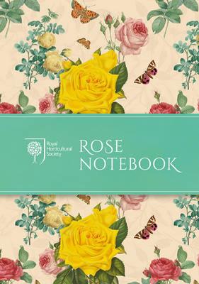 RHS Rose Notebook (Paperback)