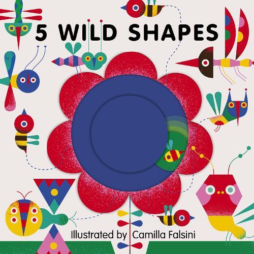5 Wild Shapes - 5 Wild... (Board book)