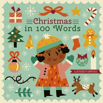 Christmas in 100 Words - My World in 100 Words (Board book)
