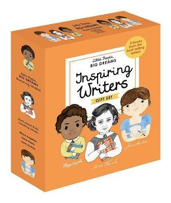 Little People, Big Dreams: Inspiring Writers: 3 Books from the Best-Selling Series! Maya Angelou - Anne Frank - Jane Austen - Little People, Big Dreams (Hardback)