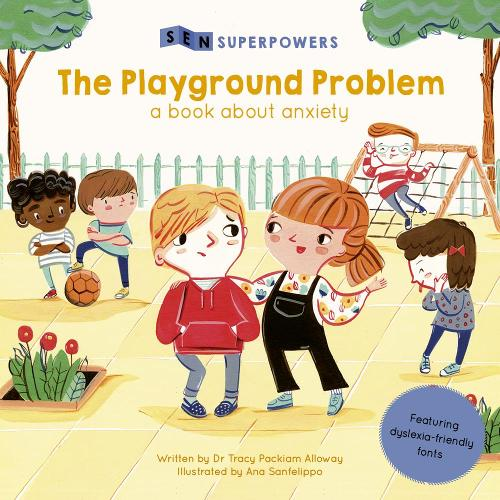 The Playground Problem: A Book about Anxiety - SEN Superpowers (Paperback)