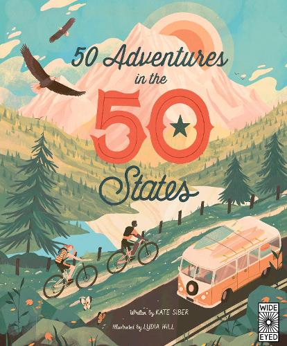 50 Adventures in the 50 States - The 50 States 7 (Hardback)