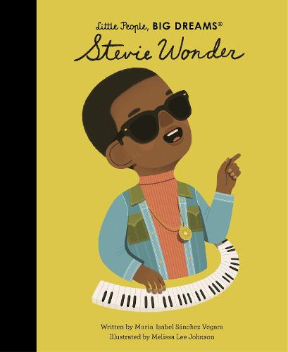 Stevie Wonder - Little People, BIG DREAMS 56 (Hardback)