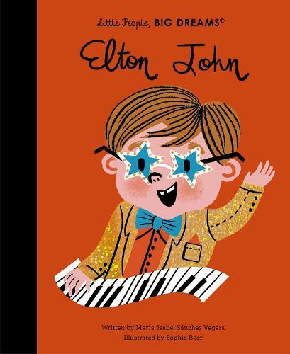 Elton John - Little People, BIG DREAMS 50 (Hardback)