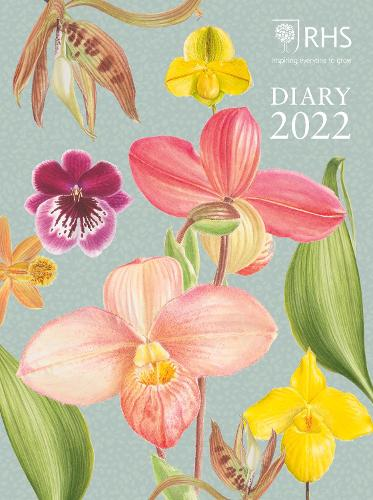 Royal Horticultural Society Desk Diary 2022 (Hardback)