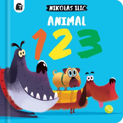 Animal 123 - Nikolas Ilic's First Concepts (Board book)