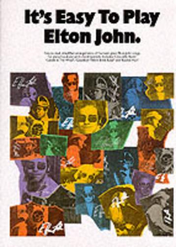 It's Easy to Play Elton John (Paperback)