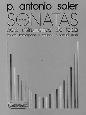 P. Antonio Soler: Sonatas Volume Four (Paperback)