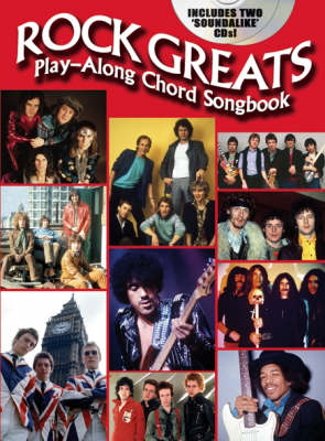Rock Greats: Play Along Chord Songbook (Paperback)