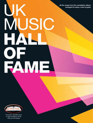 UK Music Hall of Fame: for Piano, Voice and Guitar (Paperback)