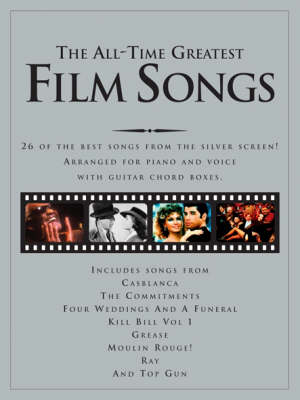 The All-Time Greatest Film Songs (Sheet music)