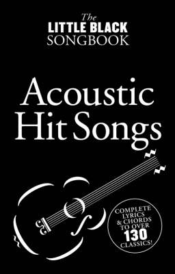 The Little Black Songbook: Acoustic Hits (Paperback)
