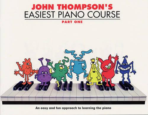 John Thompson's Easiest Piano Course: Part 1 - Revised Edition (Paperback)