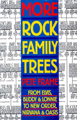 More Rock Family Trees (Paperback)