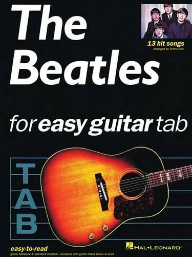 The Beatles For Easy Guitar Tablature (Paperback)