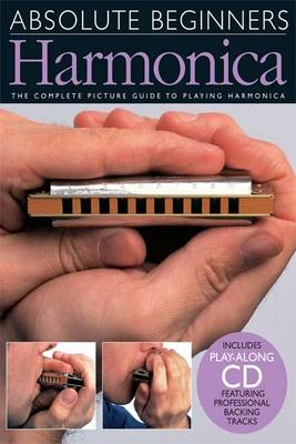 Absolute Beginners: Harmonica (Book And CD) (Paperback)