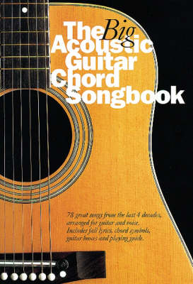 The Big Acoustic Guitar Chord Songbook (Book)