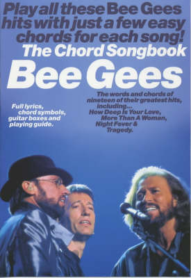 Bee Gees: the Chord Songbook (Paperback)