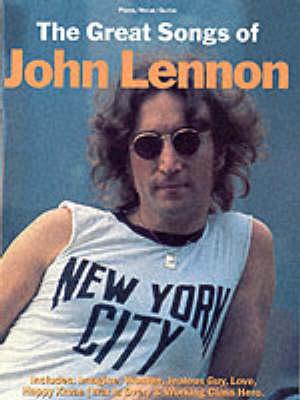 The Great Songs of John Lennon (Paperback)