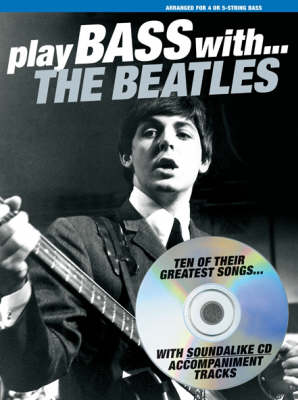 Play Bass With... The Beatles (Paperback)