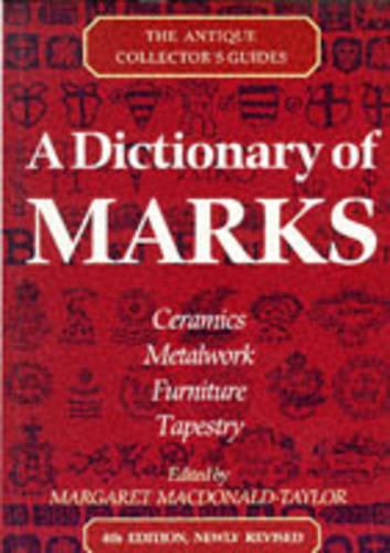 A Dictionary Of Marks (Paperback)