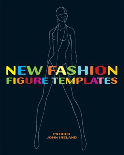New Fashion Figure Templates new edition (Paperback)