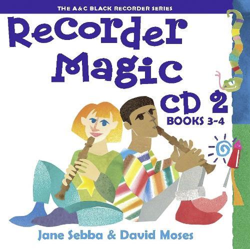 Recorder Magic CD 2 (Books 3 & 4) - Recorder Magic (CD-Audio)