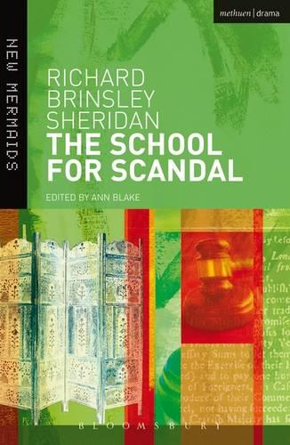 The School for Scandal - New Mermaids (Paperback)