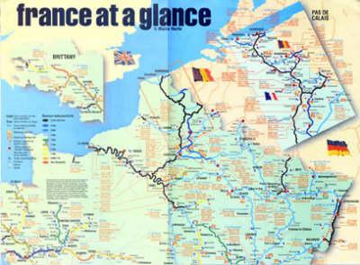 France at a Glance (Sheet map, folded)