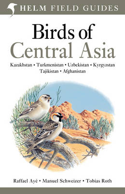 Birds of Central Asia - Helm Field Guides (Paperback)