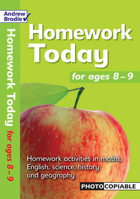 Homework Today for Ages 8-9 - Homework Today (Paperback)