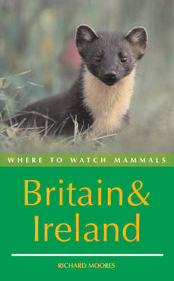 Where to Watch Mammals in Britain and Ireland (Paperback)