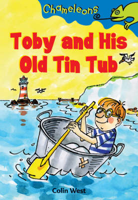 Toby and His Old Tin Tub - Chameleons (Paperback)