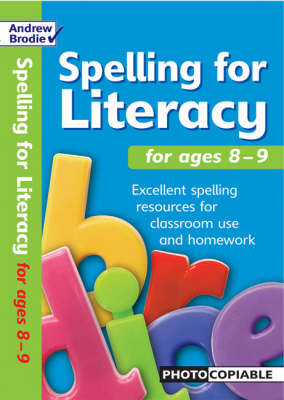 Spelling for Literacy for Ages 8-9 - Spelling for Literacy (Paperback)