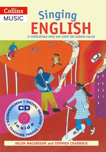 Singing English (Book + CD): 22 Photocopiable Songs and Chants for Learning English - Singing Languages
