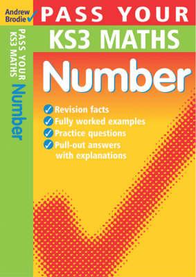 Pass Your KS3 Maths: Number - Pass Your KS3 Maths (Paperback)